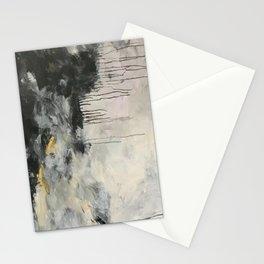 Black Linen Stationery Cards