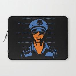 Dirty Cop Mugshot Police Brutality Art Print Laptop Sleeve