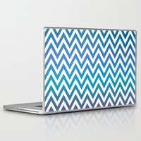 chevron Laptop & iPad Skins featuring Chevron by David Zydd - Colorful Mandalas & Abstrac
