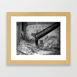 Elegance, urban exploration Framed Art Print