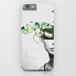 LADY FLOWERS XIII iPhone Case