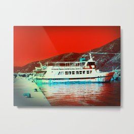 The Red Sea Metal Print