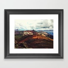 On Top Framed Art Print