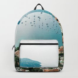 France Photography - Nice By The Sea Backpack