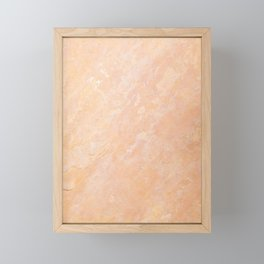 Limestone Texture Framed Mini Art Print