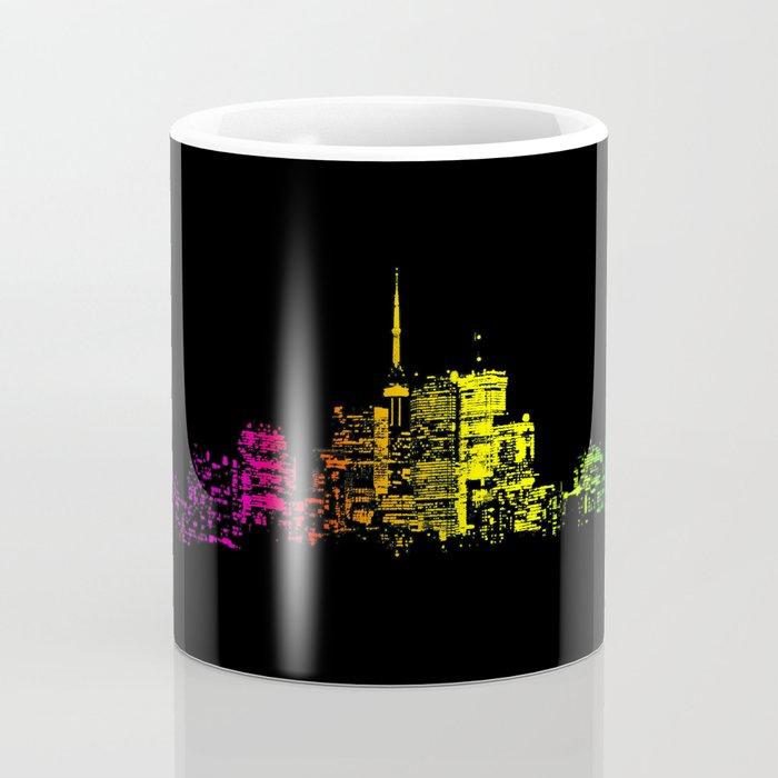 Toronto Skyline Gradient Coffee Mug