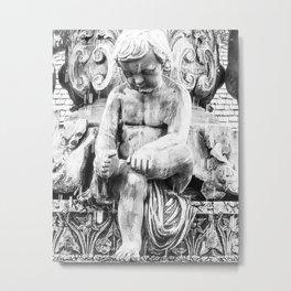 Forlorn Boy Metal Print