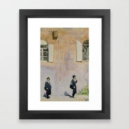 Jewish Quarter Framed Art Print