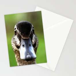 Hello Ducky Quirky Duck Portrait Stationery Cards