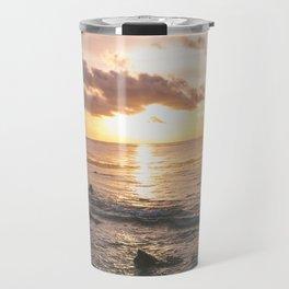 Caribbean Sea, Mayan Riviera Travel Mug