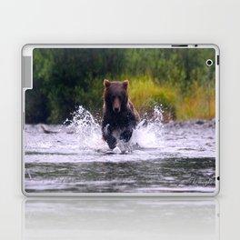 ALASKA V: Fishing in the Rain Laptop & iPad Skin