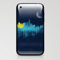 city that never sleeps iPhone & iPod Skin