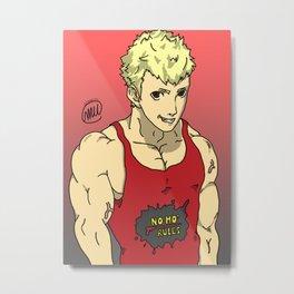 Strong Enforcer (Ryuji/P5 Fanart) Metal Print