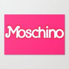 Moschino Barbie Canvas Print