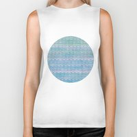 scales Biker Tanks featuring Mermaid Scales by Sunny Horizon