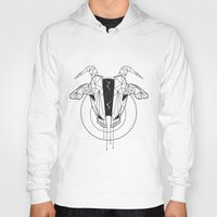 capricorn Hoodies featuring Capricorn by LydiaS