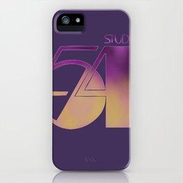 Studio 54 iPhone Case