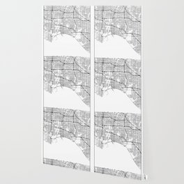 Minimal City Maps - Map Of Long Beach, California, United States Wallpaper