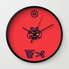 Year of the Bulldog Wall Clock