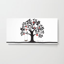 Tree of Life Collection Metal Print