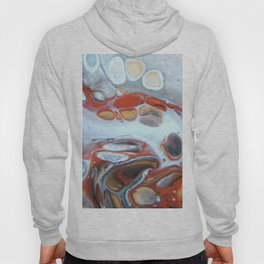 Animal Inspiration - Abstract Acrylic Art by Fluid Nature Hoody