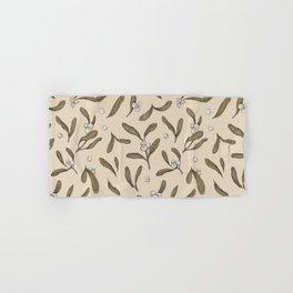 Mistletoe Pattern Hand & Bath Towel