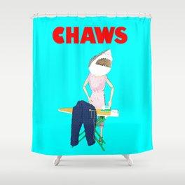 Chaws! Shower Curtain