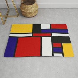 Mondrian De Stijl Art Movement Rug