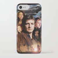 firefly iPhone & iPod Cases featuring Firefly by SB Art Productions