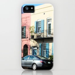 Rainbow Row 2 iPhone Case