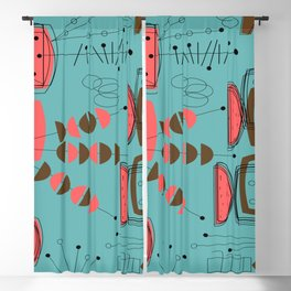 Mid-Century Thing Blackout Curtain