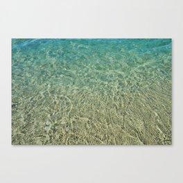 Windansea Water Canvas Print