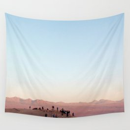 People Watching in the Moon Valley, Chile Wall Tapestry
