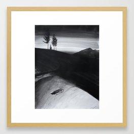 Hiems Framed Art Print