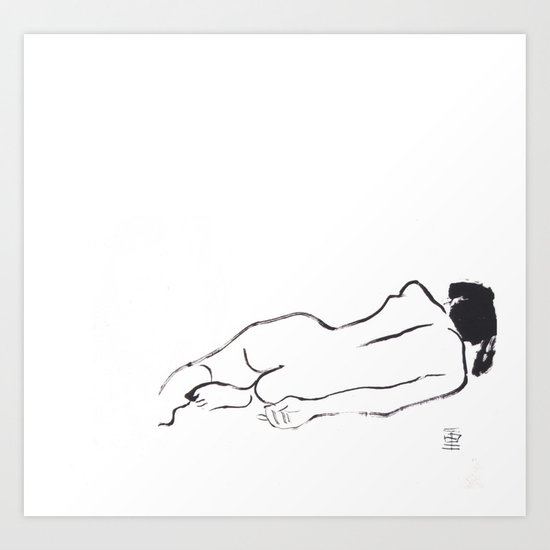 Woman Nude Art Print