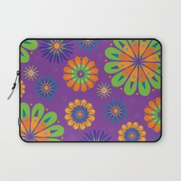 Psychoflower Purple Laptop Sleeve