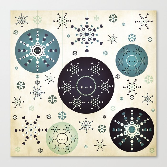 Snowflakes Part Deux Canvas Print
