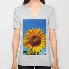 Stunning Sunflower Unisex V-Neck