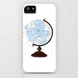 Floral Globus #2 iPhone Case
