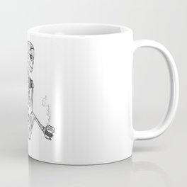 Hipster Skelly Coffee Mug