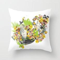 Terror Tropical 1 Throw Pillow