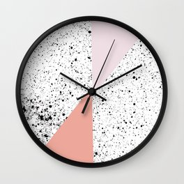 Polka Art #society6 #decor #buyart Wall Clock