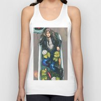 relax Tank Tops featuring Relax by Yan Ramirez
