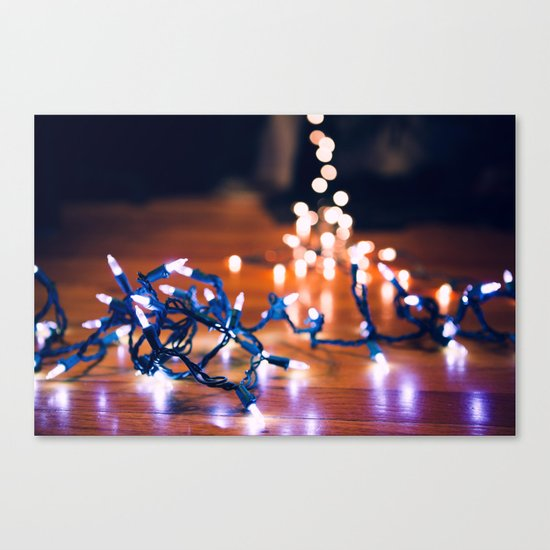 Rigging Up the Lights Canvas Print