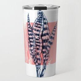 Snake Plant Travel Mug