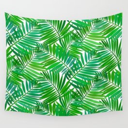 green leafs cool modern home trends Wall Tapestry
