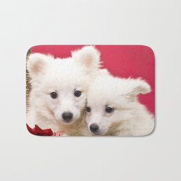 Puppies from the North Pole Bath Mat