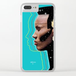 the joneses II Clear iPhone Case