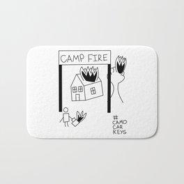 Camp Fire Bath Mat
