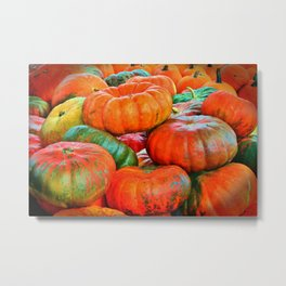 Heirloom Pumpkins Metal Print